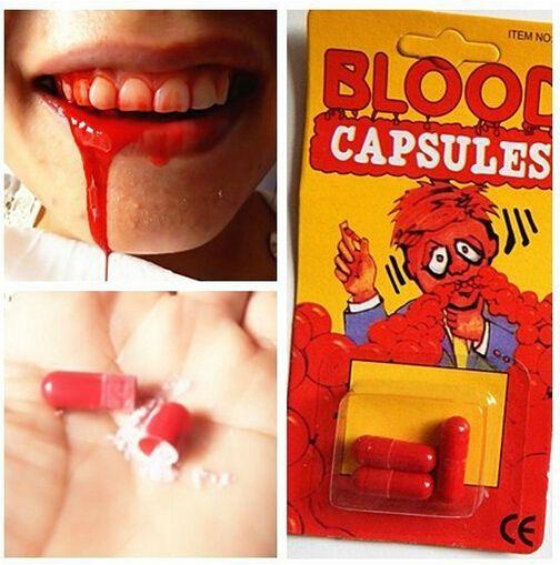 スプレー血液ピル アメージング おもちゃ ギフト ジョーク いたずら トリック楽しい ジョークエイプリルフール の日特別プレゼント おもちゃ クリエイティブ ギフト真新しい ギフト