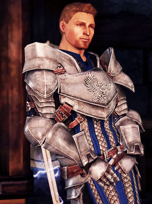 Alistair, from Dragon Age. Yes, I am (again) smitten with a game character. And yes it is (again) a templar/paladin type. And?
