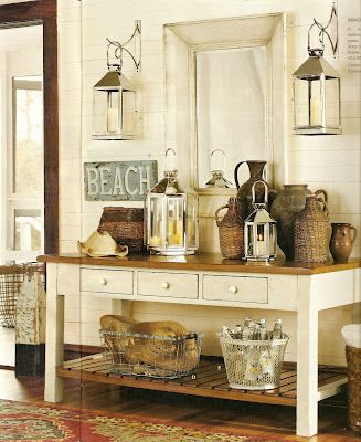 Lots of good decorating ideas on this site. Really like the lanterns.  Trying to think of a way to use some in my house decor