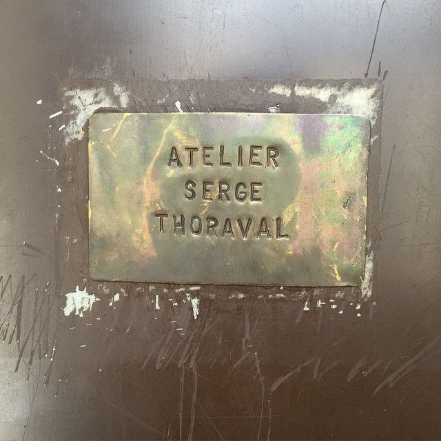 the workshop and showroom of paris jewellery brand serge thoraval in rue la fayette