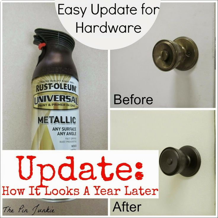 I did this and my door knobs have helped up really well!