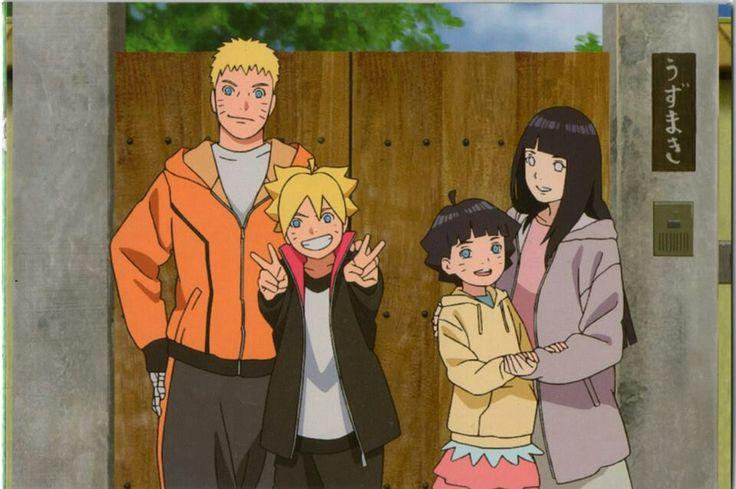 Naruto boruto hinata y himawari