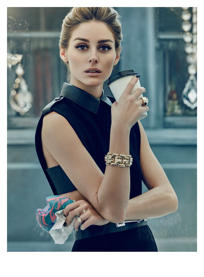 This month Olivia graces the cover of the new 57 Magazine as none other than a modern day Holly Golightly. With hair and makeup done by Cedric Jolivet and Matthew Monzon, Olivia appears as the idea...