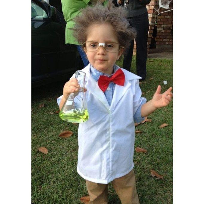 Enfants:10 déguisements d'Halloween de dernière minute    1. Scientifique fou