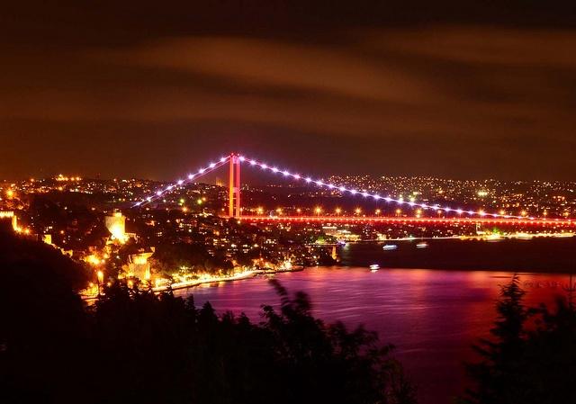 Rumelian Castle & Bosphorus Bridge, Istanbul, Turkey