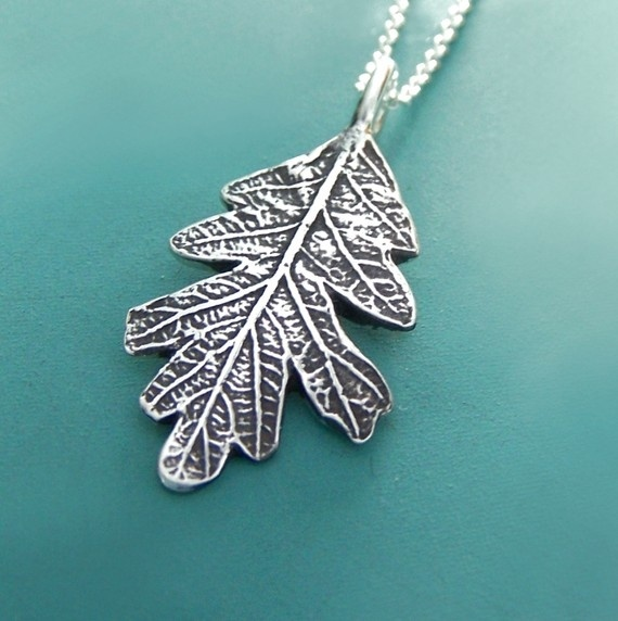 Everyone, I just got some amazing brand name purses,shoes,jewellery and a nice dress from here for CHEAP! If you buy, enter code:Pinterest to save http://www.superspringsales.com -   Oak Leaf Necklace  Sterling Silver by esdesigns on Etsy