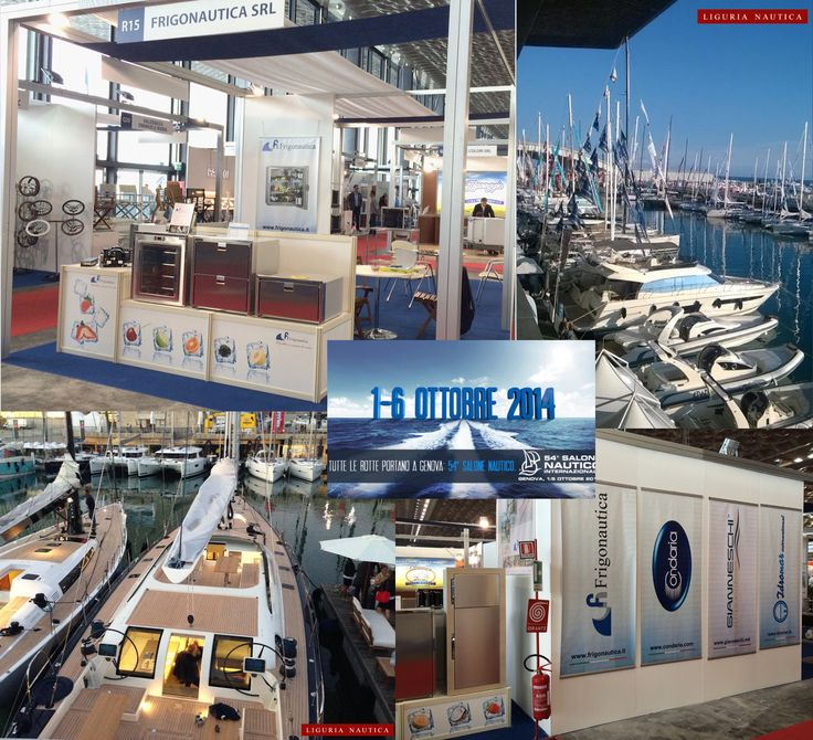Come and visit us at the #GenoaBoatShow! Stand R15 Pavillion B!