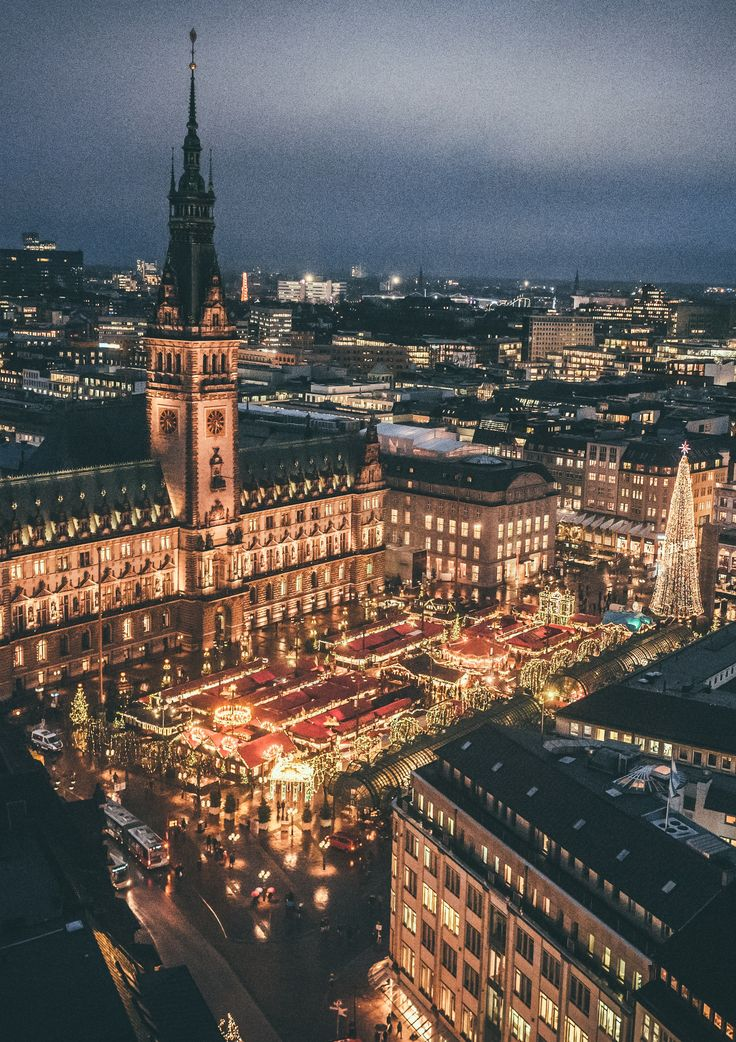 Hamburg is one of Europe's dreamiest Christmas spots...
