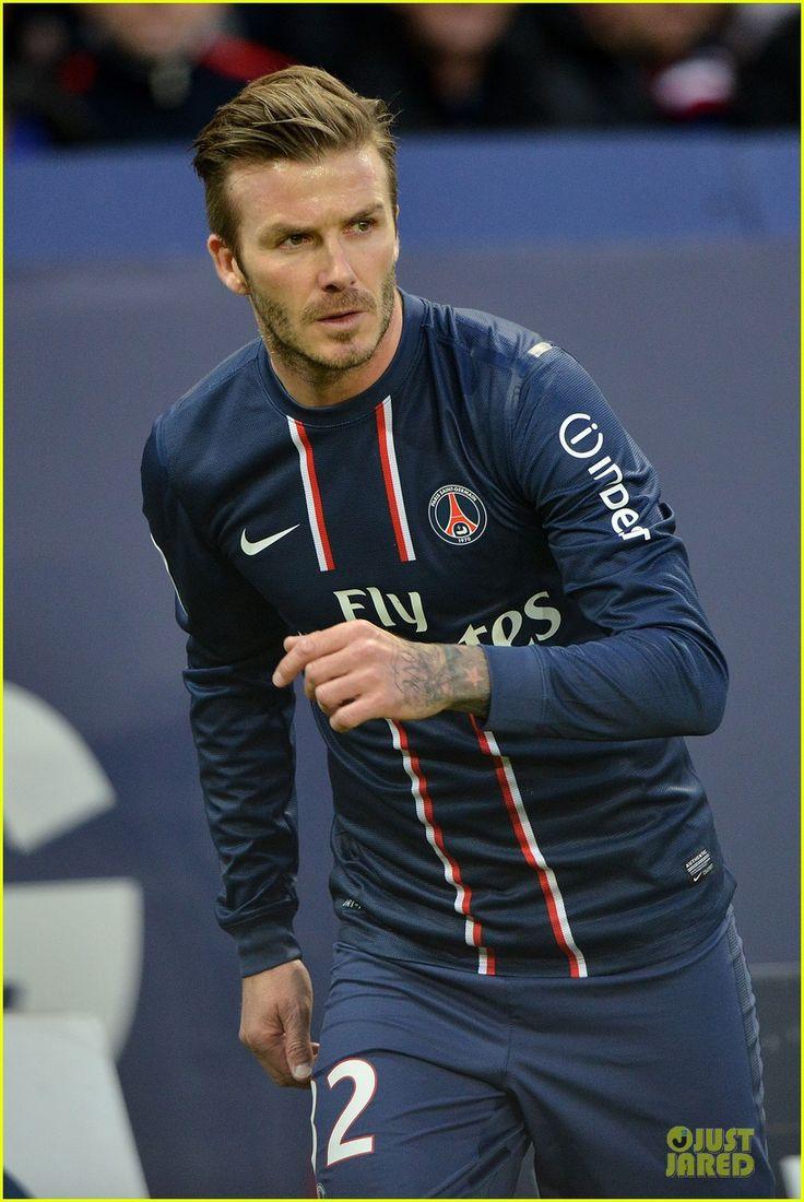 David Beckham: Shirtless Soccer Match!