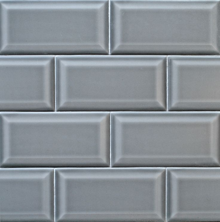 beveled gray subway tile from new offering