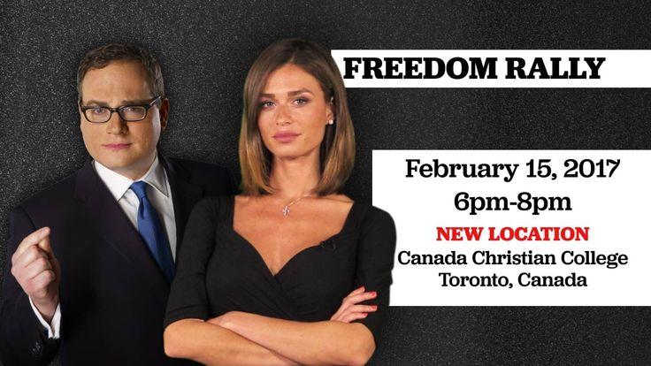 Freedom Rally: Feb 15 with Ezra Levant, Faith Goldy & more!