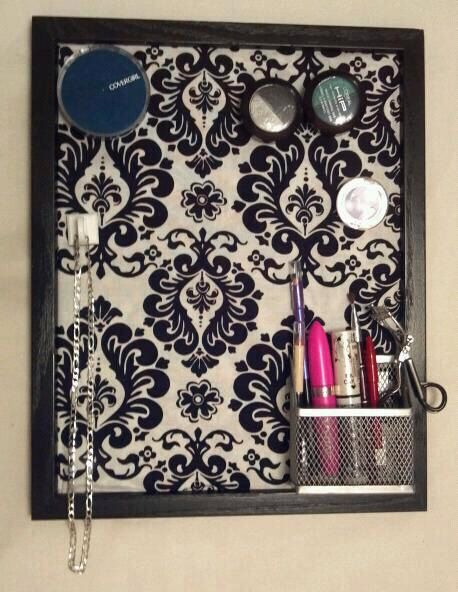 Magnetic Makeup Board Organizer