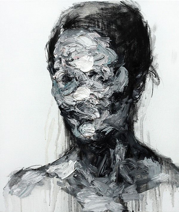 some of the beautiful oil paint & charcoal abstract portraits on Canvas…