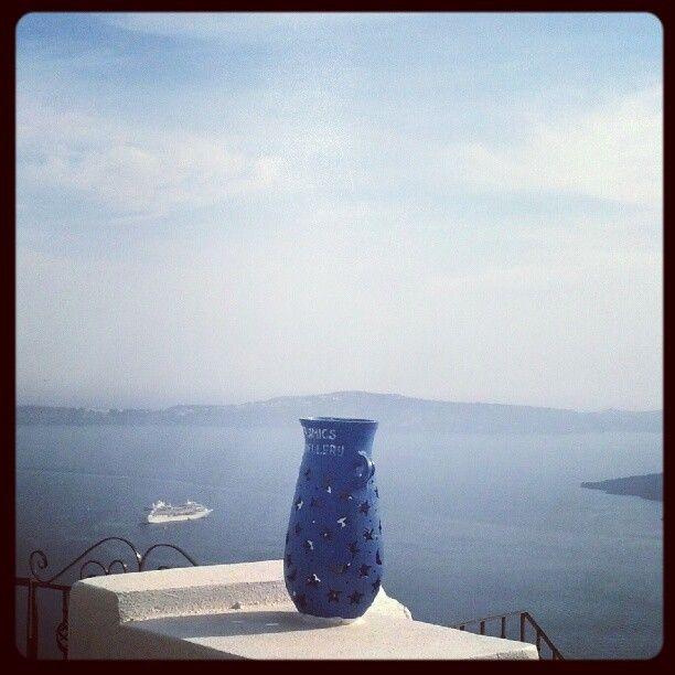 Azul para todos os gostos (Santorini, Grécia)