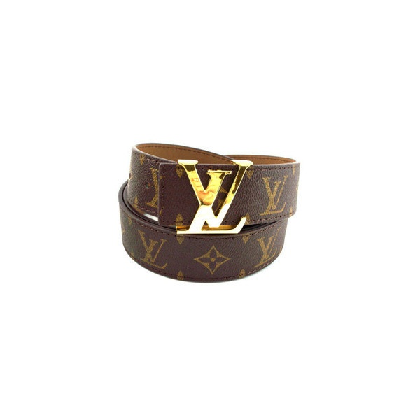Louis Vuitton Belt in Monogram Canvas : Star Style found on Polyvore