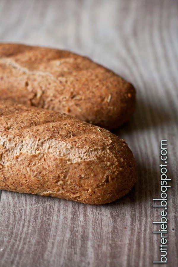 Rezept für Keto Baguette von butterliebe.blogspot.com Low Carb High Fat Keto…