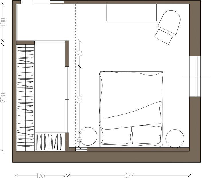1000 idee su armadi per camera da letto su pinterest rimodellare l 39 armadio disegni armadio e - Camera da letto con cabina armadio ...