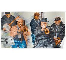 Musical Mates in Flinders Lane Poster