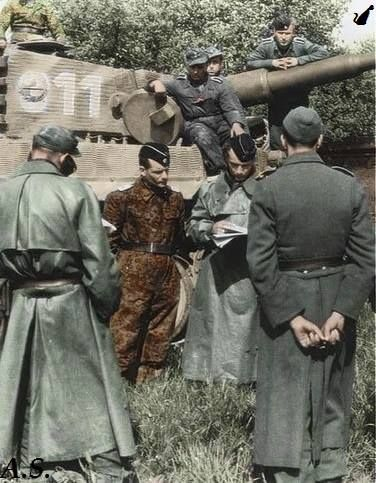 vi tiger and panzer troops of the 1st ss panzer