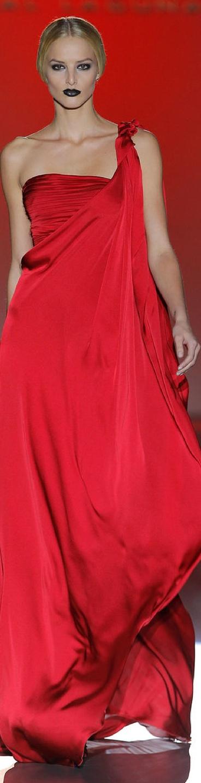 #Hannibal Laguna F/W 2013 RTW  #Trend Red