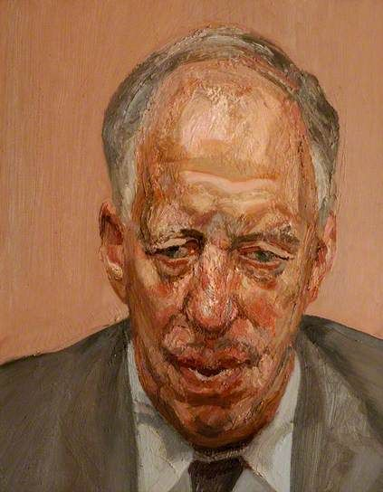 Head of a Man 1991, Lucien Freud