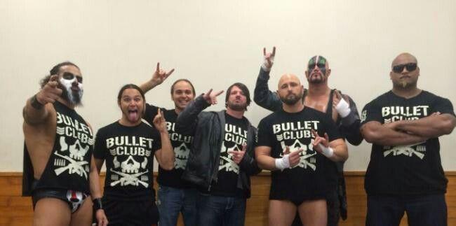 Bullet Club Members
