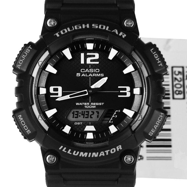 Chronograph-Divers.com - Casio Tough Solar 100m Black Gents Sports Watch AQ-S810W-1AVDF, $47.00 (http://www.chronograph-divers.com/aq-s810w-1avdf/)