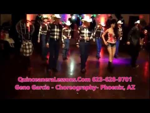 Surprise Dance Phoenix Quinceanera choreograper Geno Garcia maestro de vals phx baile sorpresa - YouTube