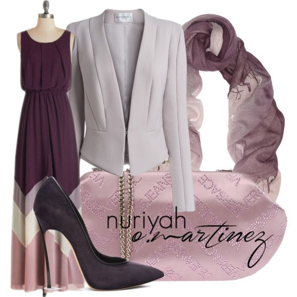 Hashtag Hijab Outfit #508 by hashtaghijab on Polyvore featuring Amanda Wakeley, Casadei, Versace, Chan Luu and hijab