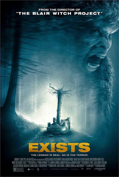 John's Horror Corner: Exists (2014), found footage bigfoot folklore horror from the director of The Blair Witch Project (1999). | Movies, Films & Flix