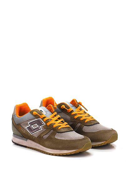 LOTTO LEGGENDA - Sneakers - Uomo - Sneaker in pelle, camoscio e tessuto con suola in gomma. Tacco 30, platform 20 con battuta 10. - BROWN