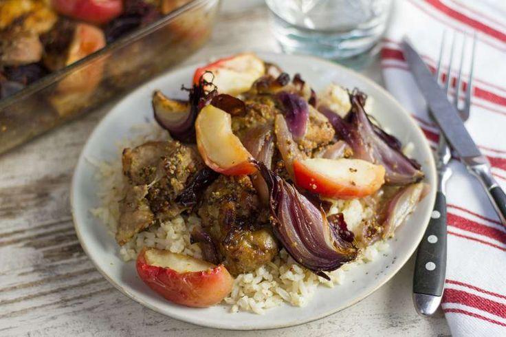 Kip in mosterd-appel saus - Koken met Aanbiedingen
