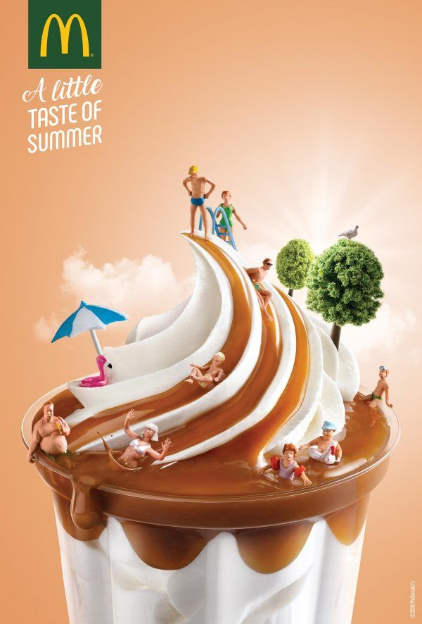 Don't Miss McDonald's Artsy Summer Print Ads