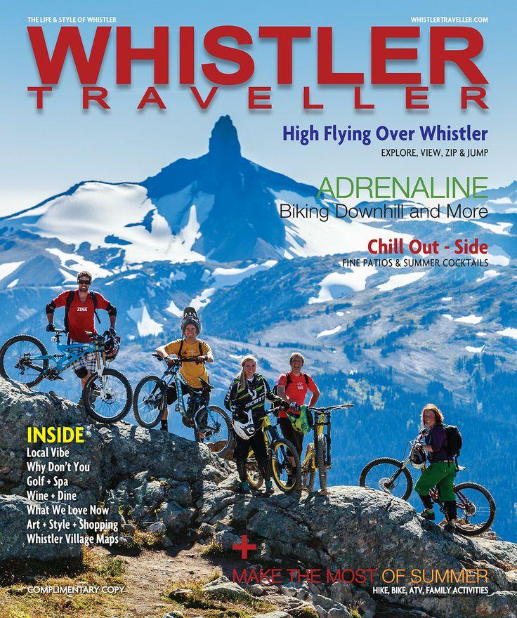 Whistler Traveller's Summer/Fall 2014 issue is a good one, www.whistlertraveller.com