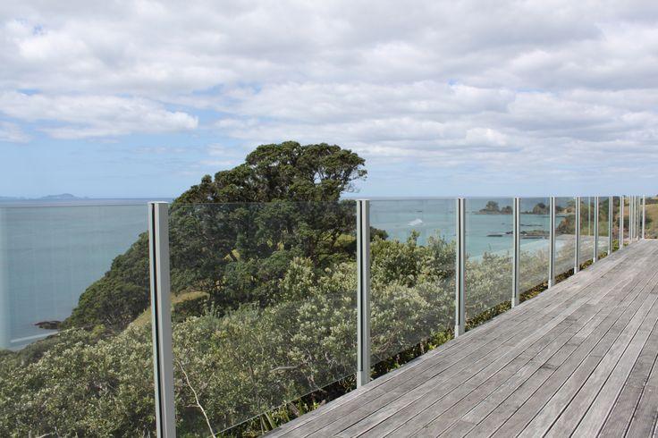 Semi Frameless Glass Balustrade by Outdoor Edge