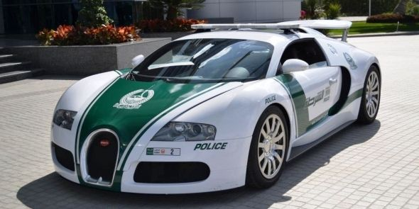 Полицейские машины мира: ОАЕ
