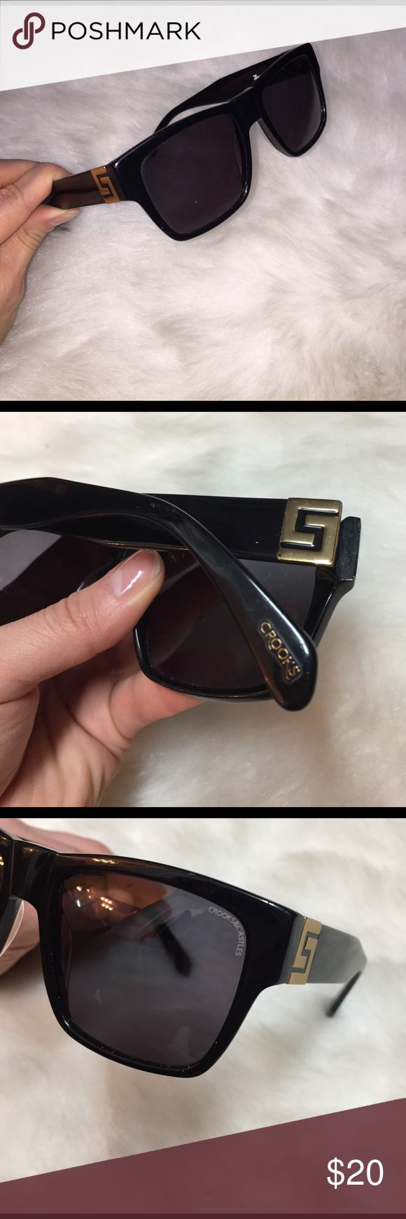 Crooks and Castles Sunglasses Crooks and Castles Sunglasses  these are high quality and UV Protective. Very nice Sunglasses. crooks and castles Accessories Sunglasses