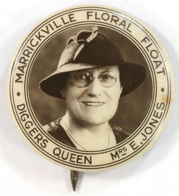 Marrickville Floral Float - Diggers Queen - Mrs E. Jones