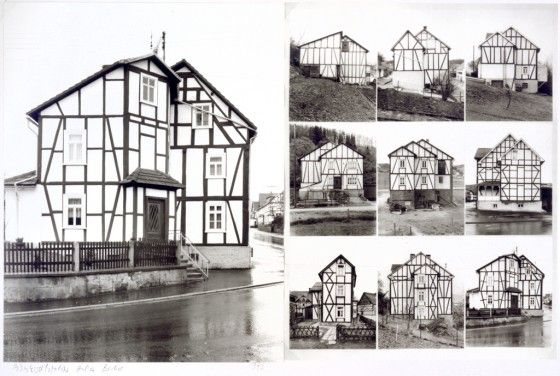 You could create your own taxonomy (collection) of different houses, buildings or objects through taking your own photography.