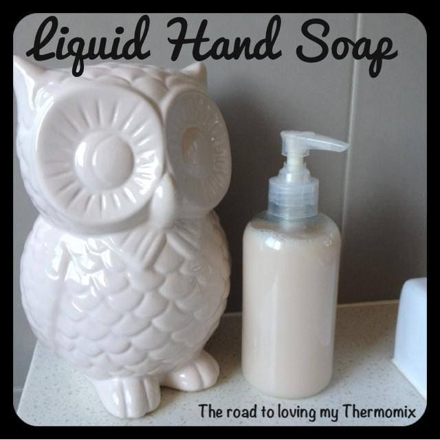 Simple Liquid Hand Soap - The Road to Loving My Thermo Mixer