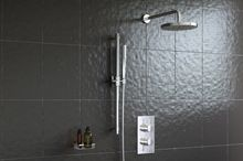 Stirling Essentials Deluxe Two Outlet Shower Set (003) - Showers   Bathrooms.com