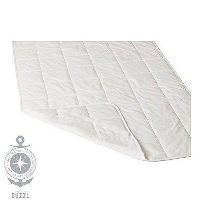 IKEA KUNGSMYNTA Matratzenschoner in weiß; (180x200cm) Matratzenschutz Auflage