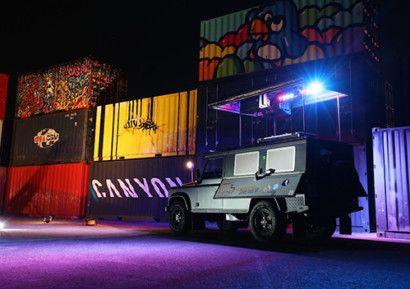 Soirée mélangeant élégance et tendance avec un cocktail dinatoire et une animation musicale effectuée par un DJ sur un 4×4 Jaguar Land Rover ! https://goo.gl/8hblyT