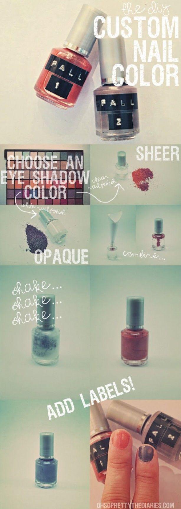 mix+je+oude+oogschaduw+met+blanke+nagellak+en+je+hebt+een+heel+nieuw+kleurtje