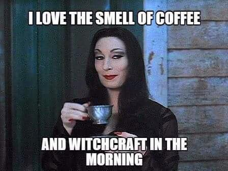 Coffee and witchcraft