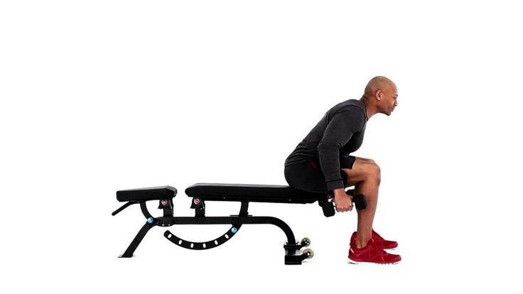 Elevaciones laterales traseras sentado : Deltoides, Parte superior de la espalda - MSN Salud y Bienestar
