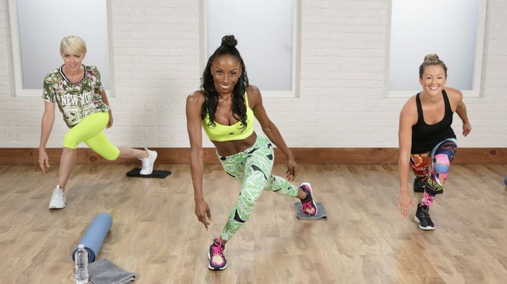A Flat-Belly and Tight-Booty Workout Celebs Love: Tighten your abs and booty with an emphasis on the beat.