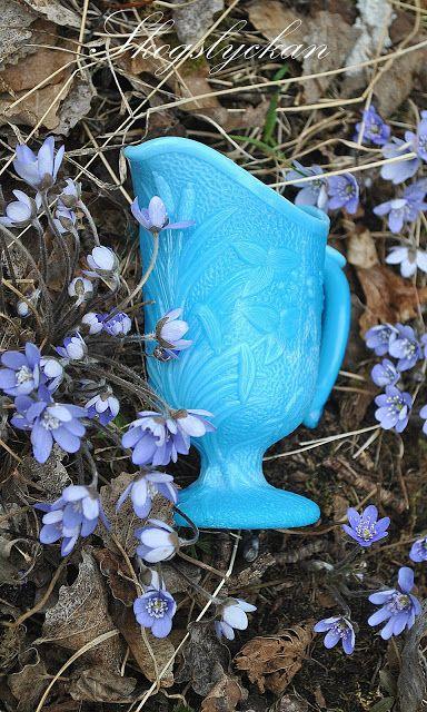 Atelje Skogslyckan: Blue