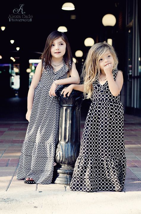 Summer Black Chevon Print Maxi Dress by simplicitycouture on Etsy, $67.00