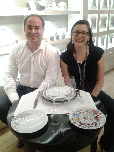 antoine et caroline ont choisi les collections vintage et marc chagall pour leur liste de mariage - Liste Mariage Galeries Lafayette